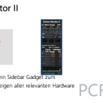 System Monitor II